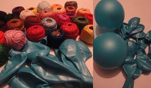KROK I – Pompowanie balonów