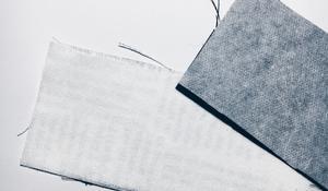 KROK I - Wycinanie pasków z materiału